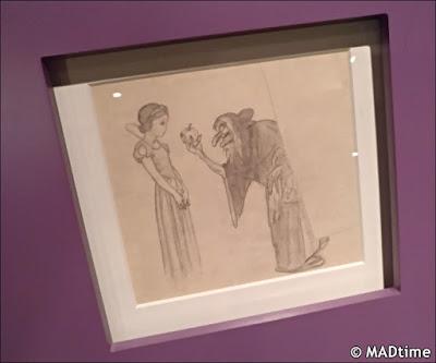 Boceto de 'Blancanieves'
