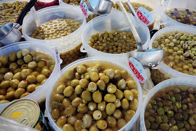 Olives - Playa Flamenca market Orihuela