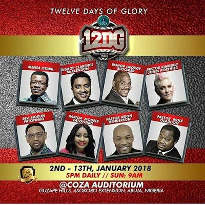 COZA 12 days of glory