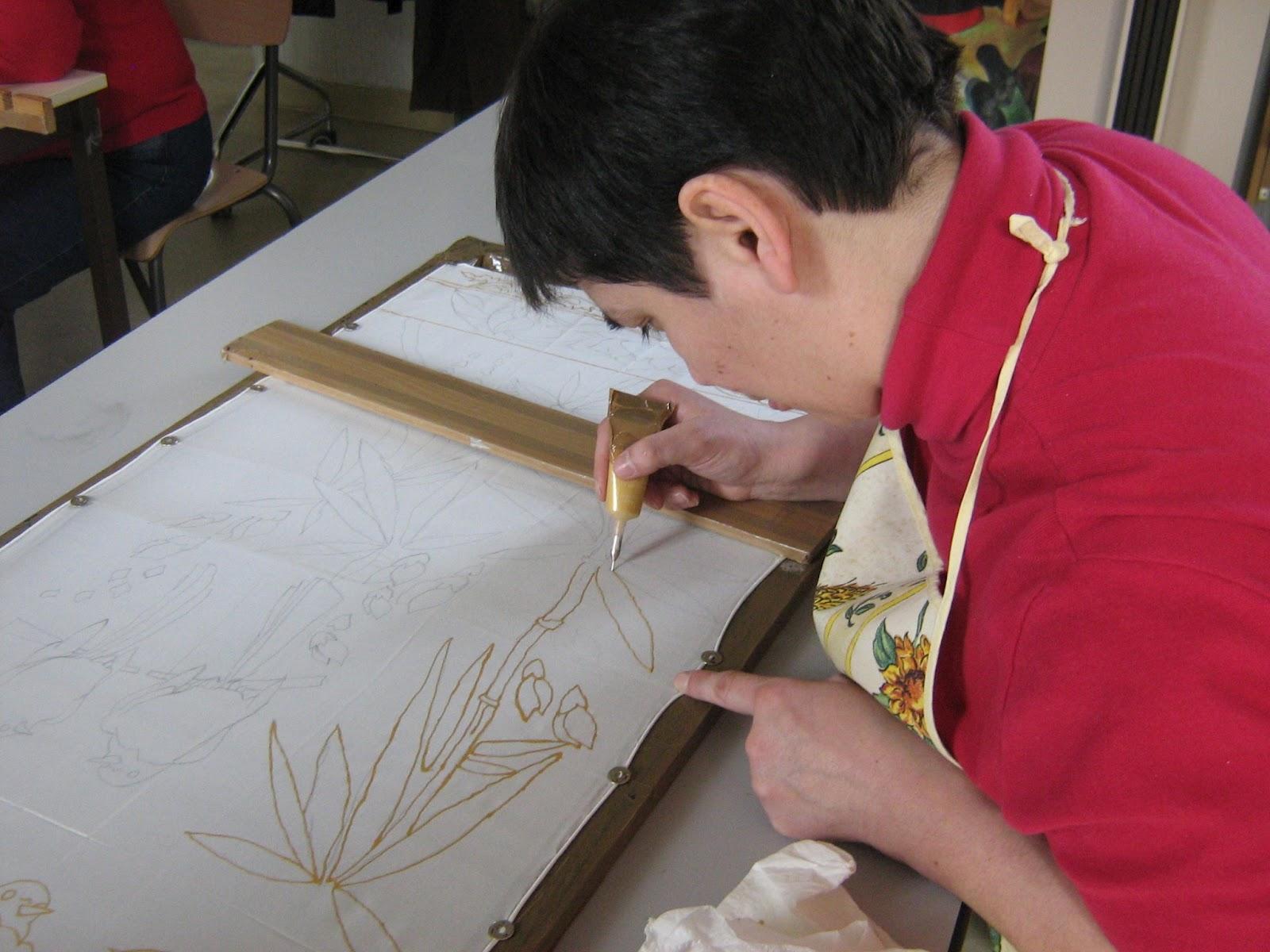 Artisan Peintre Le Mans utl du mans: peinture sur soie