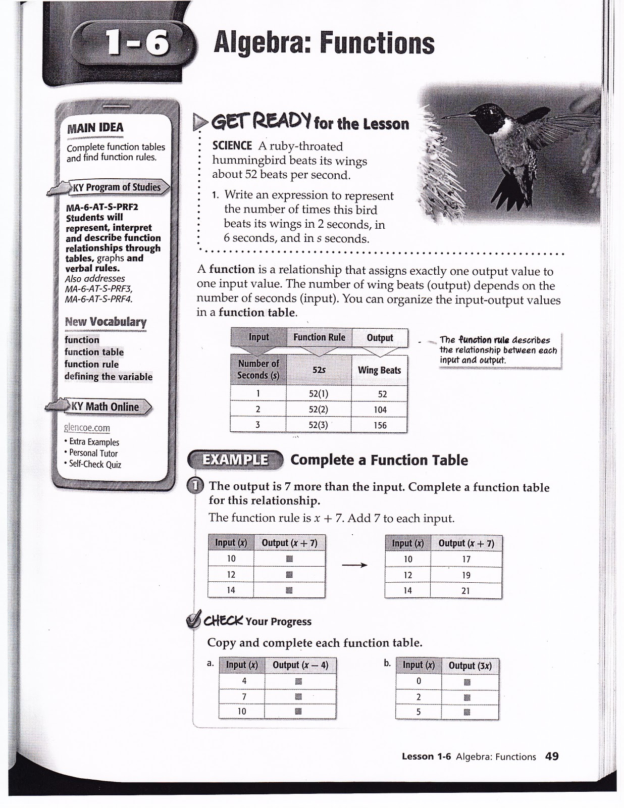 Science homework help for 6th graders