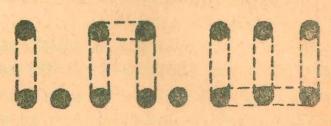 разметка букв для вывески