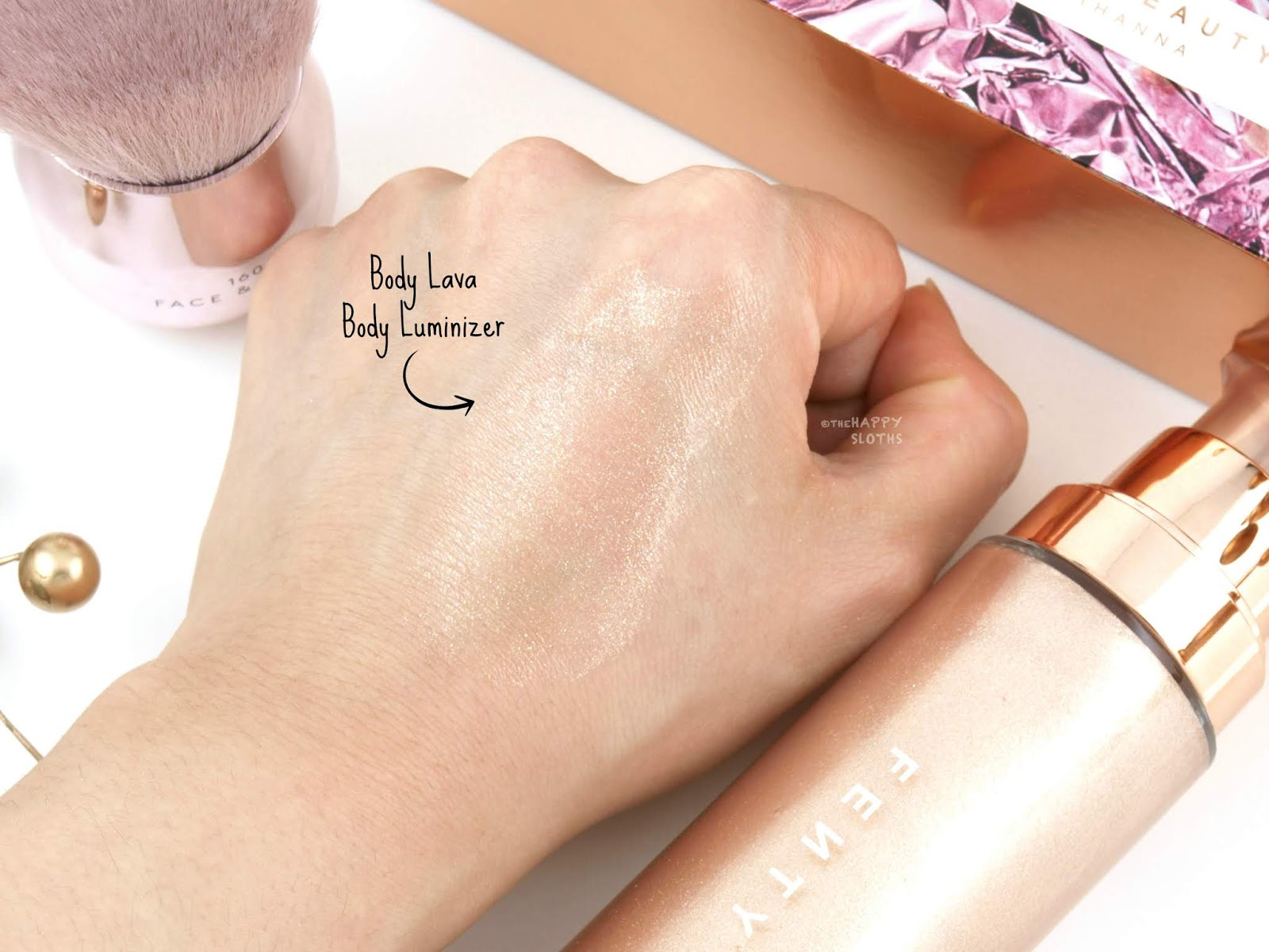"Fenty Beauty | Body Lava Body Luminizer in ""Who Needs Clothes?!"": Review and Swatches"
