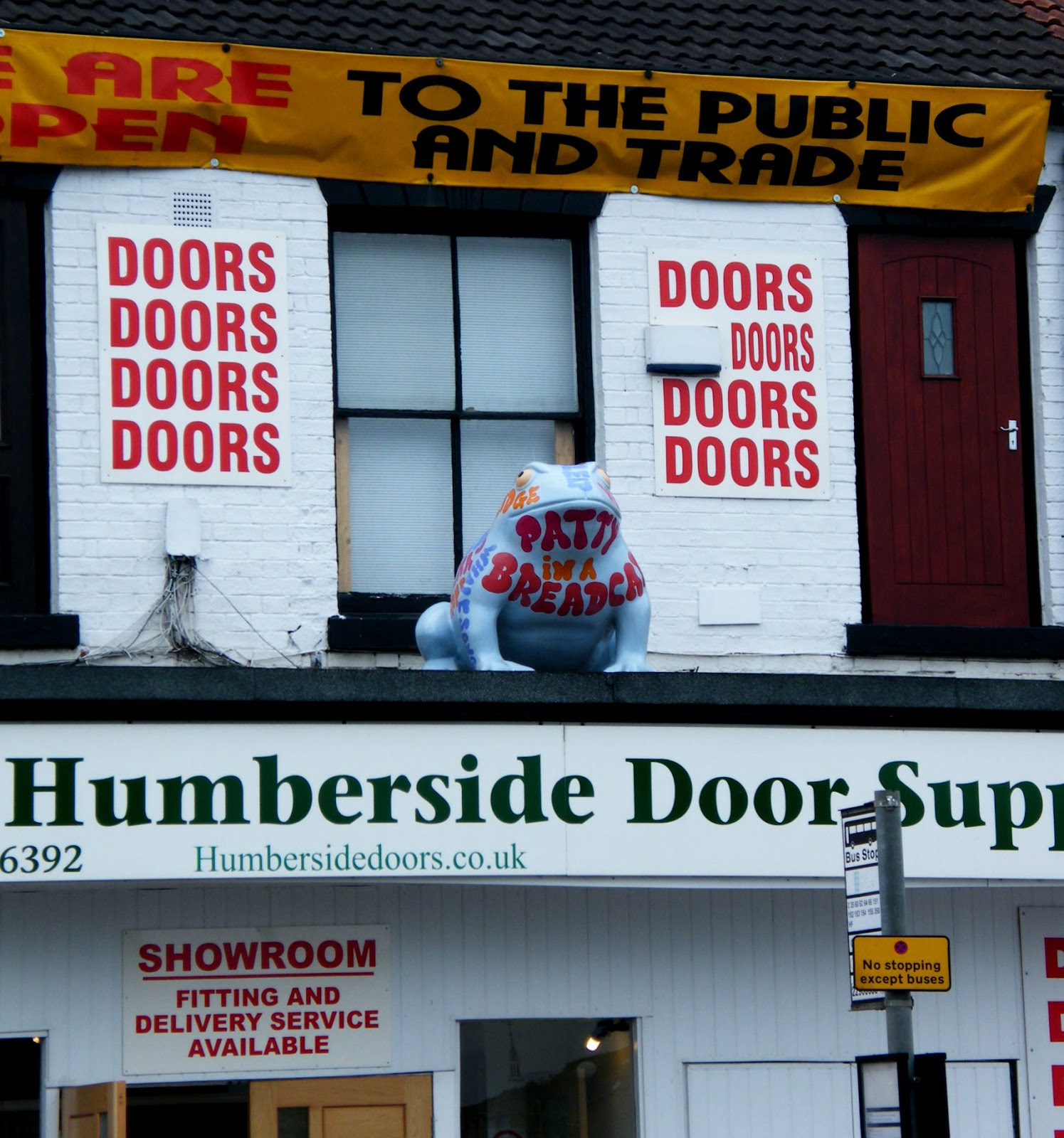 It\u0027s not on food shop oh no it\u0027s on a shop selling doors on Anlaby Road. & Hull and Hereabouts: It\u0027s a Hull thing