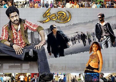 Poster Of Kantri In Dual Audio Hindi Telugu 300MB Compressed Small Size Pc Movie Free Download Only At worldfree4u.com