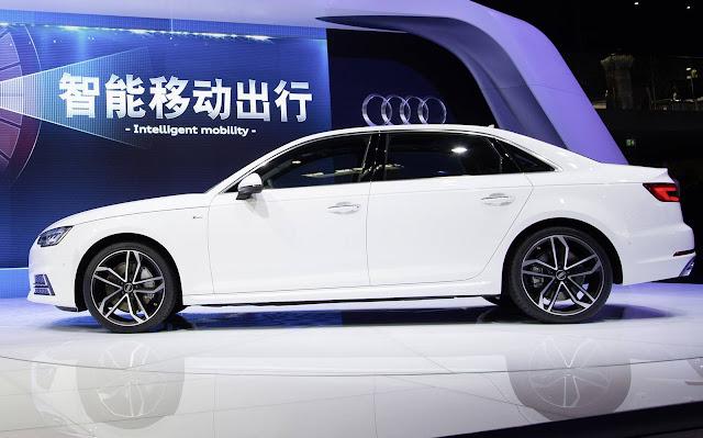 novo Audi A4 L 2017 - central MMI