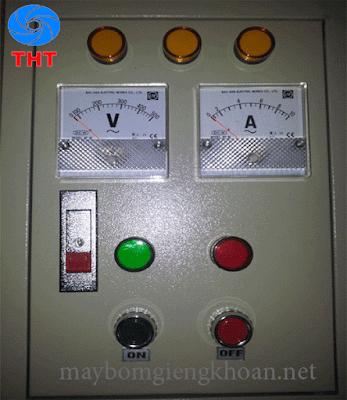 Cách lắp đặt tủ điện của máy bơm hỏa tiễn