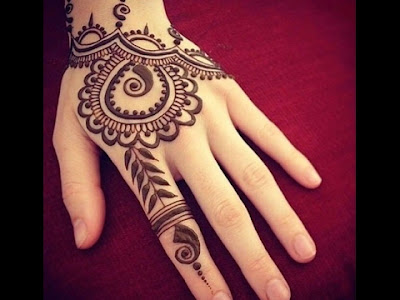 Henna designs for fingers