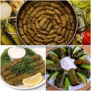 Makanan Khas Turki Dolma