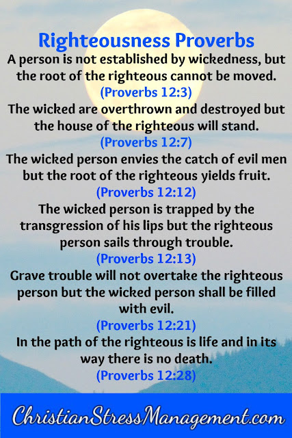 Righteousness Proverbs 12