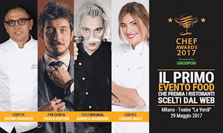 Chef Awards 2017: Guida all'Evento