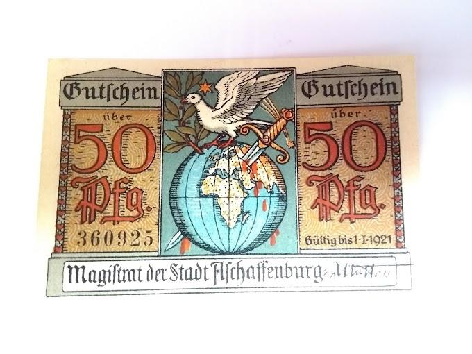 NOTGELDS - Guerra, uma grave crise econômica e símbolo da rica cultura germânica