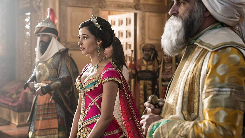 Aladdin princess in the Sultan's court