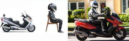 Hướng dẫn cách ngồi đúng cho các dòng xe máy