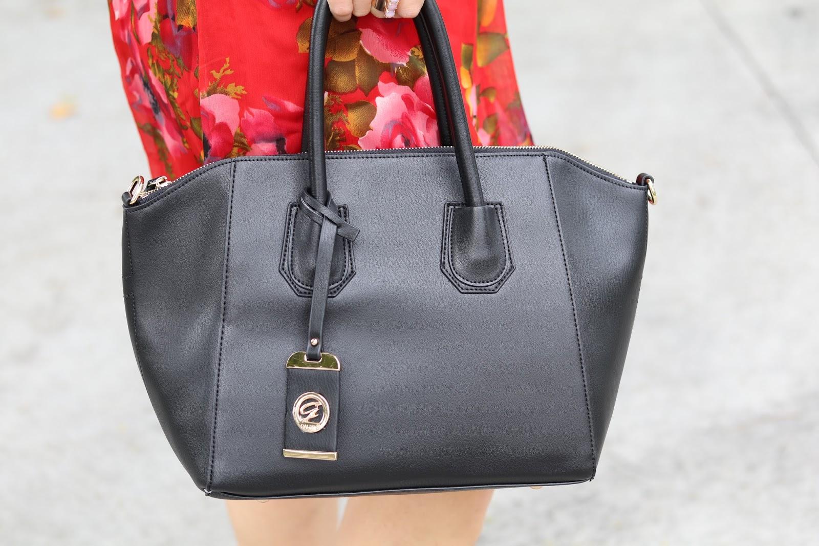 Galian Georgie Top Handle Handbag, affordable black handbags