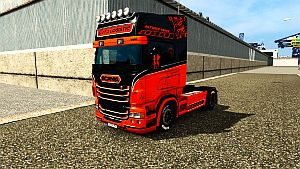 Wolf's Soul paint for Scania RJL