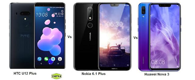 "<img src=""HTC-U12-Plus-Vs-Huawei-Nova-3-Vs-Nokia-6.1-Plus.gif"" alt=""Comparison of HTC U12 Plus Vs Huawei Nova 3 Vs Nokia 6.1 Plus"">"