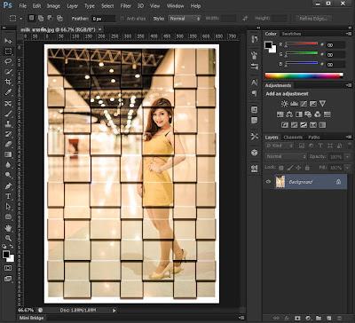 photoshop cs6 screen
