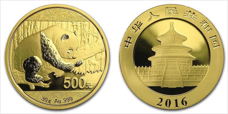 Инвестиционные монеты Китая