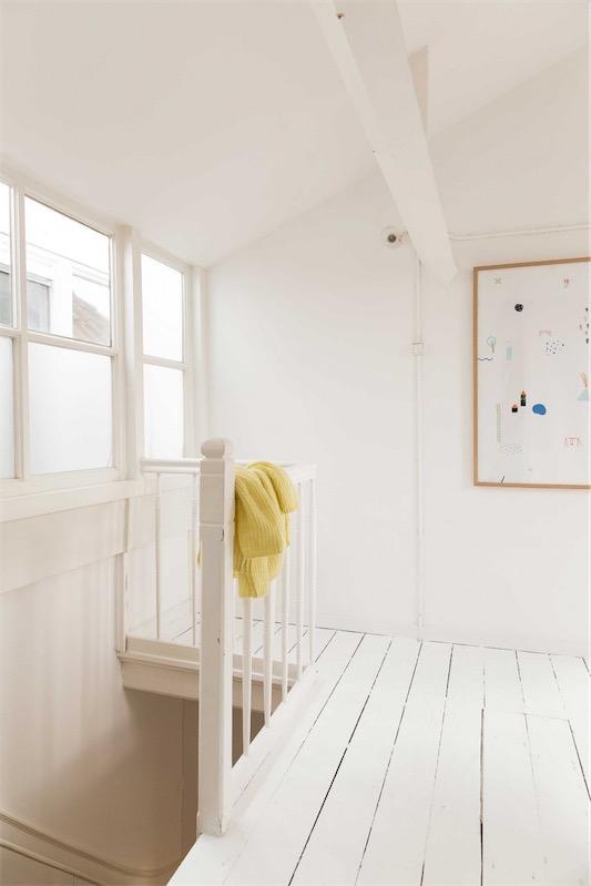 suelo de madera pintado de blanco chicanddeco