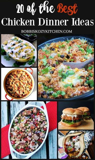 20 of the Best Chicken Recipes Collage