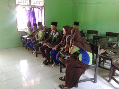 Rapat Osis Mts Miftahussalam Megang sakti 2017