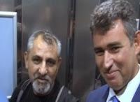 Türkiye Barolar Birliği Başkanı Metin Feyzioğlunun Asansörde Kaldığı An