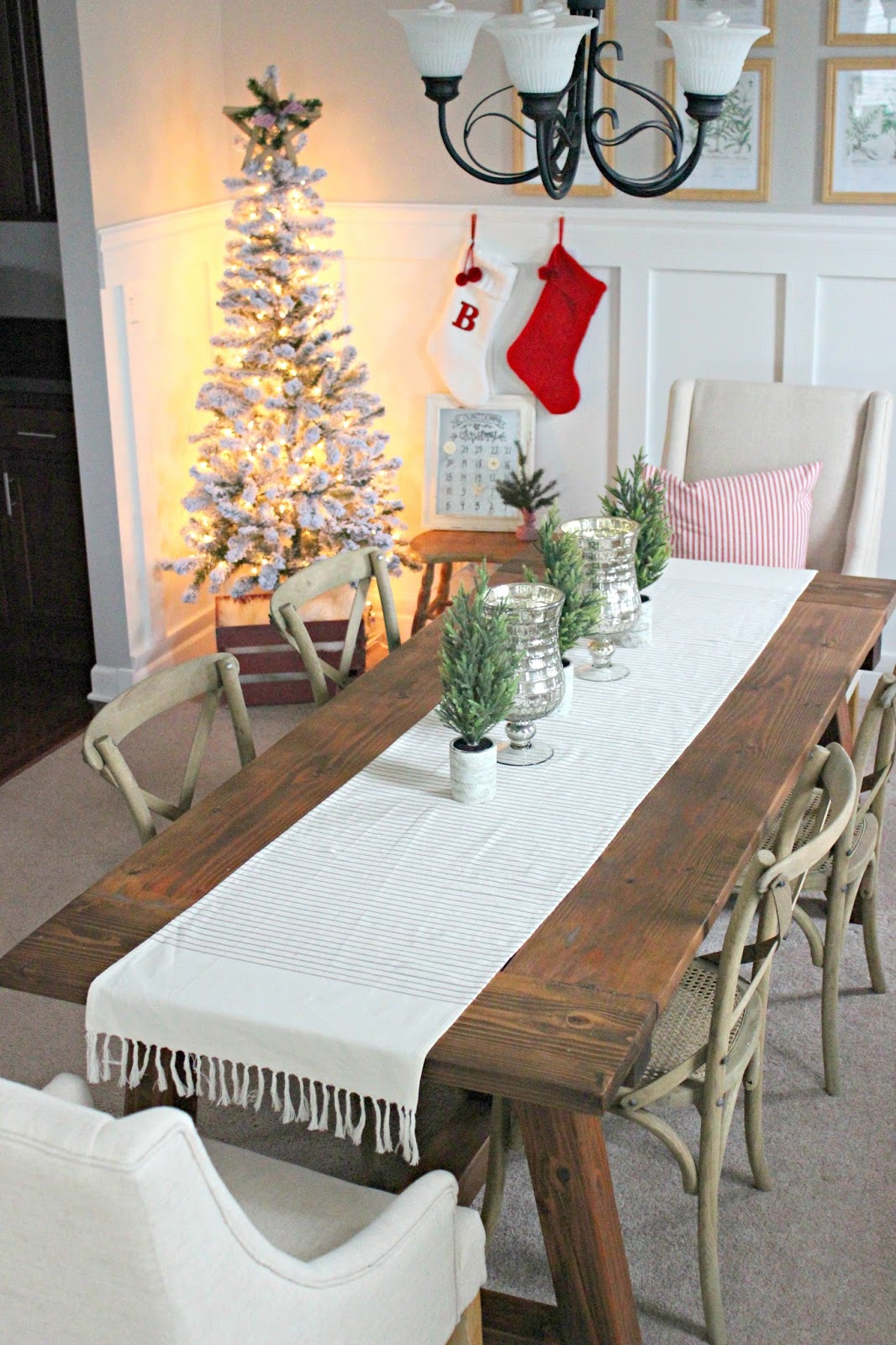 farmhouse Christmas decoration ideas