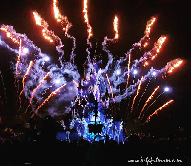 Disneyland Paris dreams fireworks