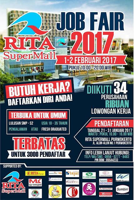 Job Fair Purwokerto 2017 | Loker Satria