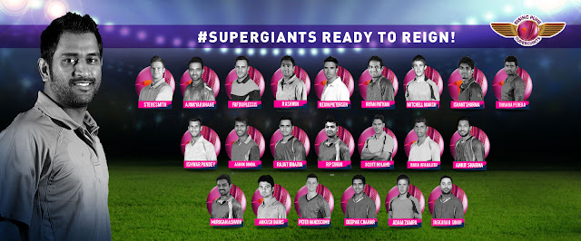 Pune Supergiants Squad