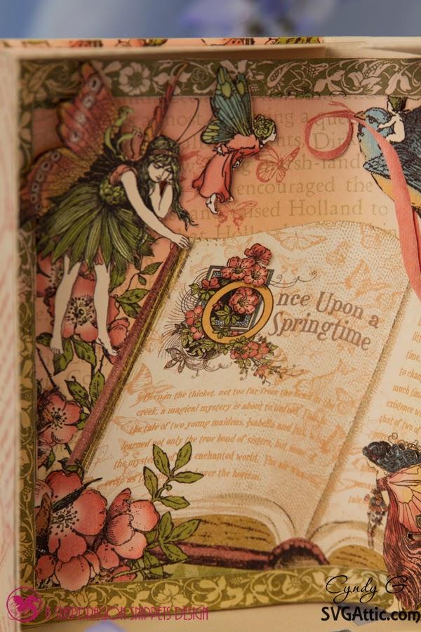 Close up of fairies
