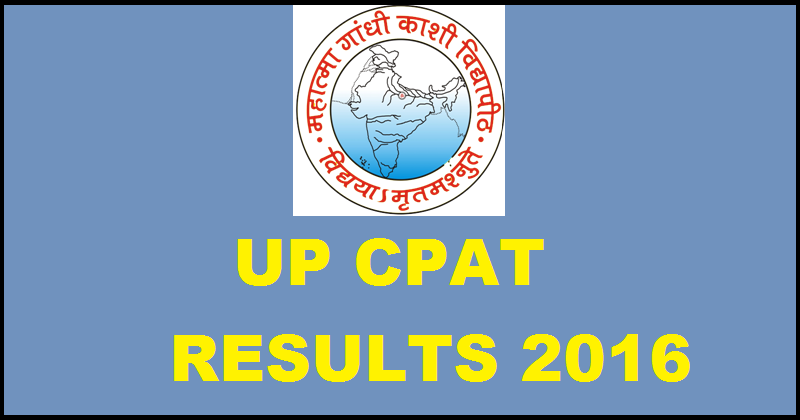 UP CPAT Results 2016 Download Scorecard www.cpatup2016.org