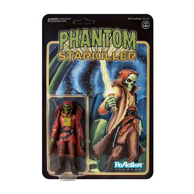 Maroon Horned King Phantom Starkiller ReAction Figure by Killer Bootlegs x Super7