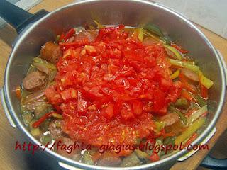 Σπετσοφάι ή σπετζοφάι Πηλιορείτικο - από «Τα φαγητά της γιαγιάς»