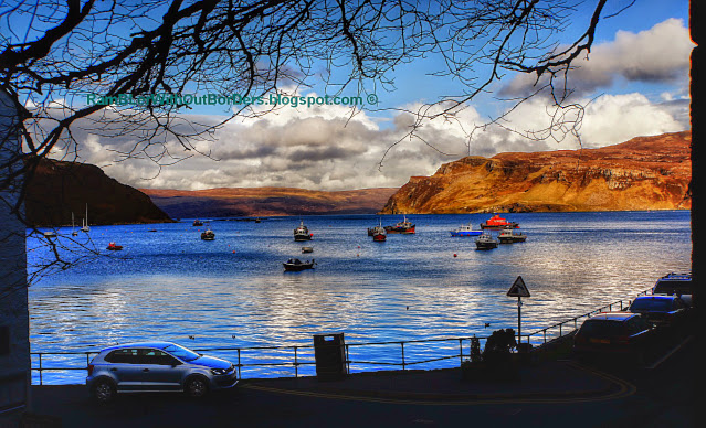 Portree Harbour, Scotland, UK