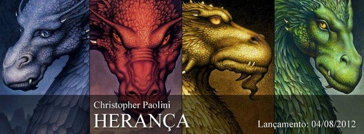"""News: Divulgada data de lancamento do quarto volume da serie """"Eragon"""" no Brasil. 6"""