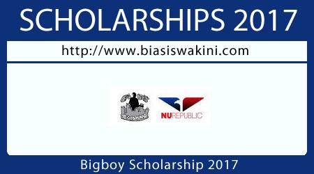 Bigboy Scholarship 2017
