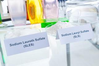 sls sles sodium lauryl sulfate sodium laureth sulfate