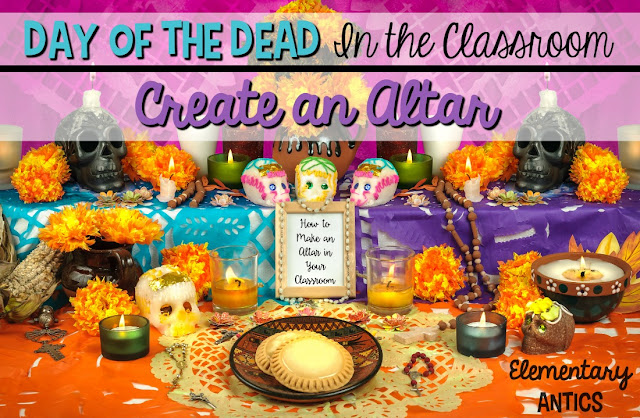 Create an altar in your classroom to honor loved ones who have died and celebrate Day of the Dead (or Dia de los Muertos)!