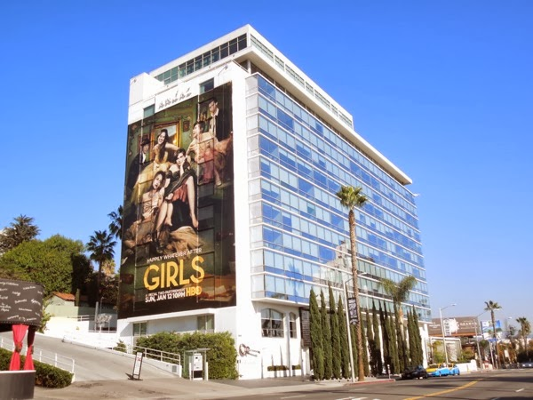 Giant Girls season 3 billboard Sunset Strip