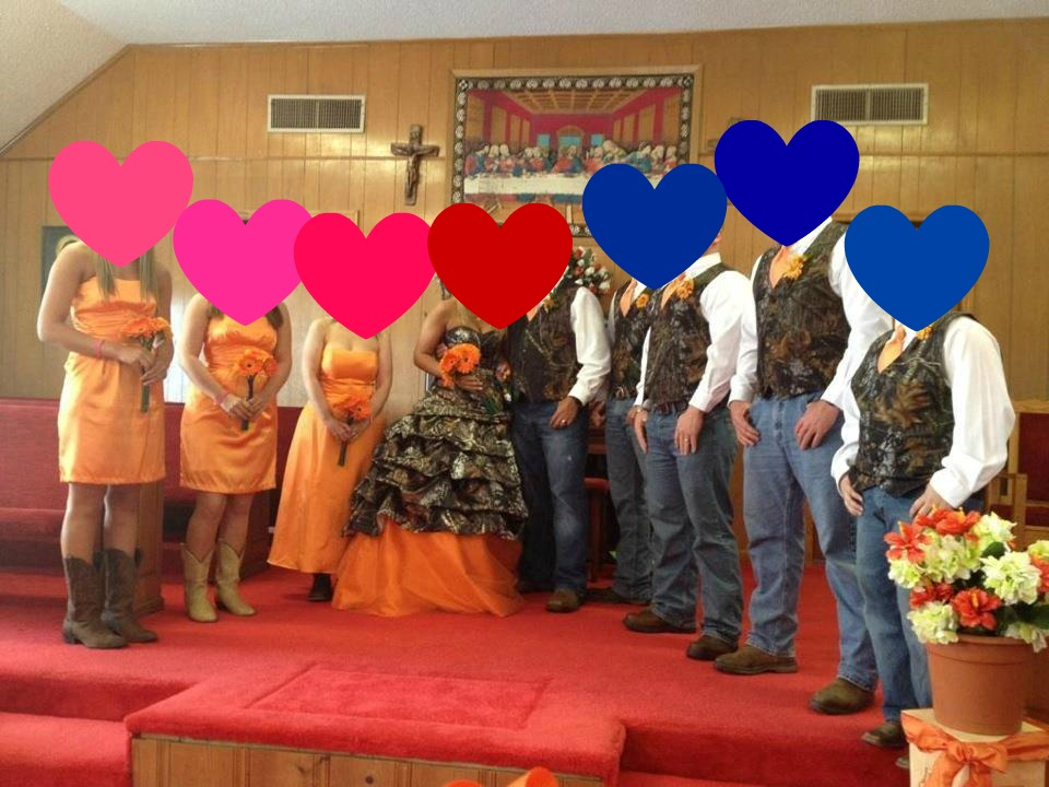 The Pink Growl: Redneck Wedding