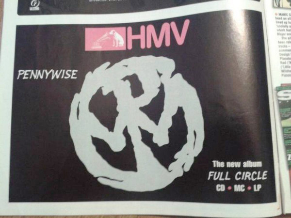 """Pennywise """"Full Circle"""" promo in 1997"""