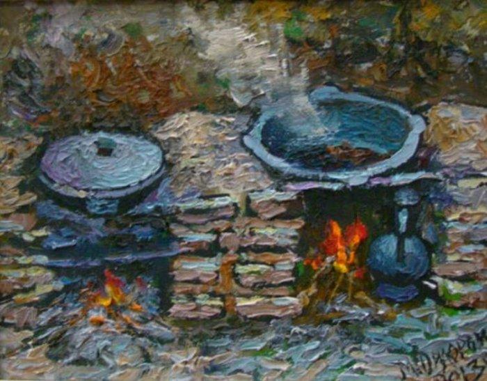Живописная природа. Дилором Мамедова