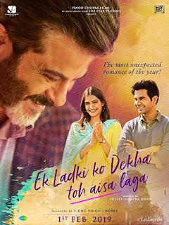 Ek Ladki Ko Dekha Toh Aisa Laga 2019 Download 720p HDRip