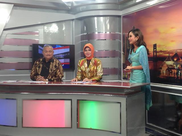 Gubernur Menjadi Presenter, Kado Sepesial Untuk TVRI