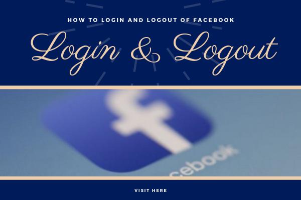 Facebook Login Logout