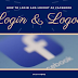 Facebook Logout Login Update 2019