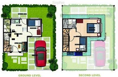 Sophie Model House - Lancaster New City Floor Plan