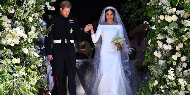 Los Duques de Sussex el día de su boda